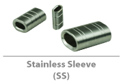 Stainless sleeve