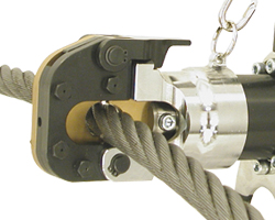 Cordless, Electric wire rope cutters