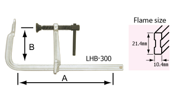 L-clamp LHB-type